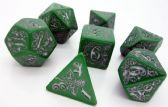 Pathfinder Kingmaker Green Dice Set
